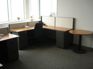 实木办公桌安装